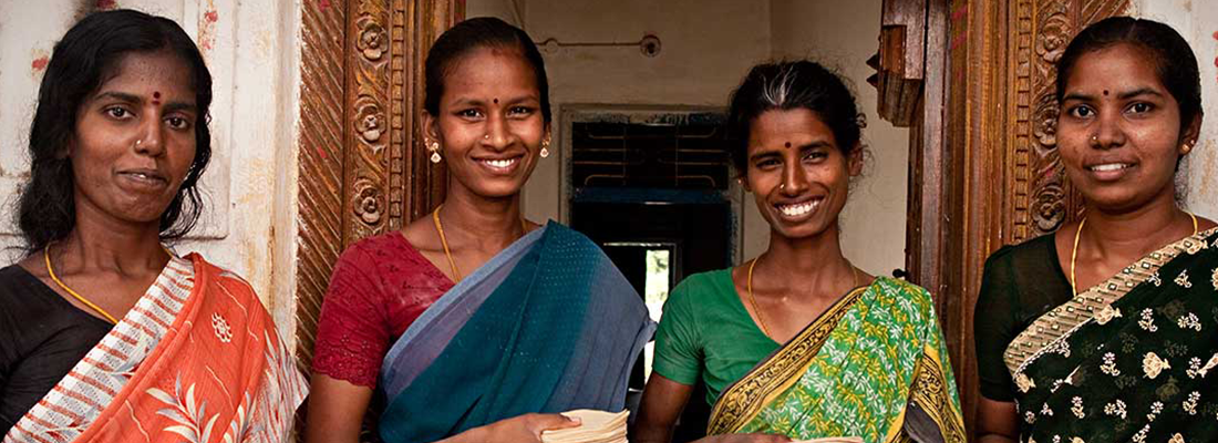 Four female entrepreneurs from Kavanur - Hand in Hand